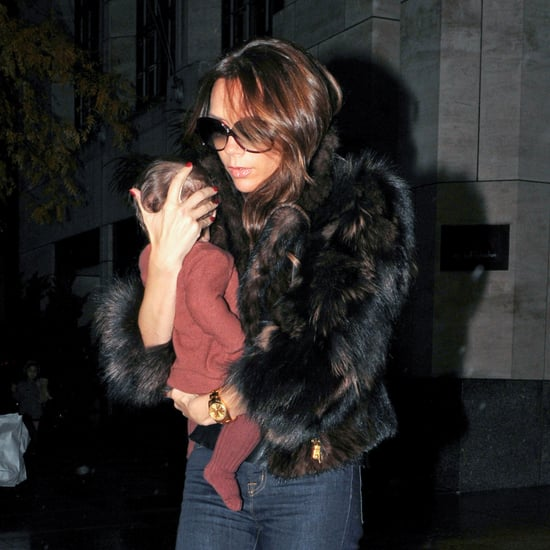 Victoria Beckham and Harper Leaving NYC Pictures