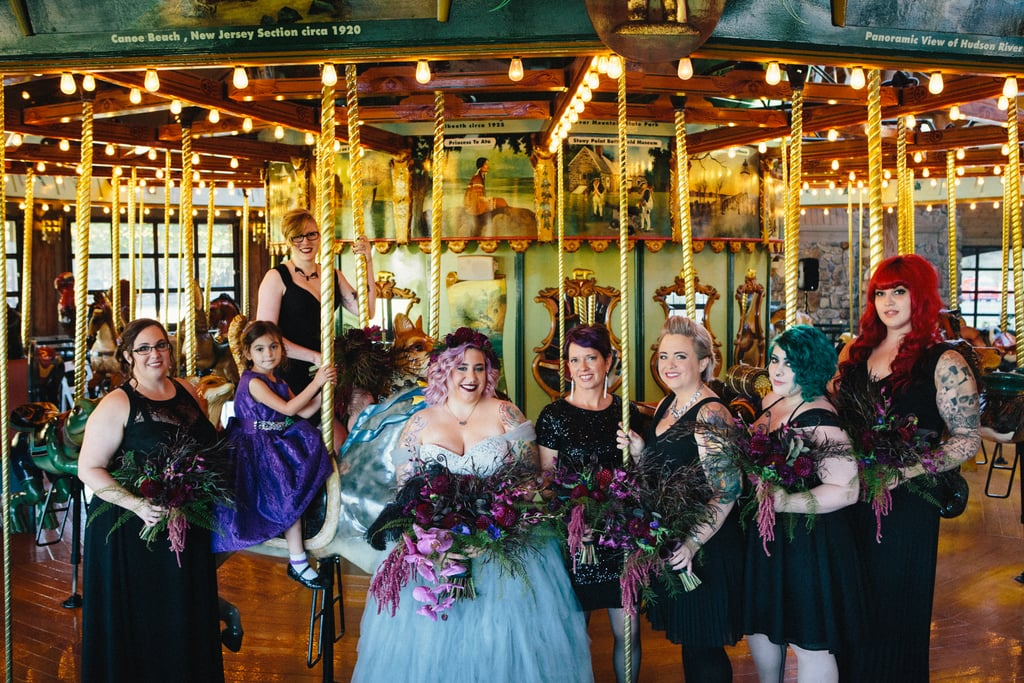 This Halloween Wedding Was Inspired by the Haunted Mansion
