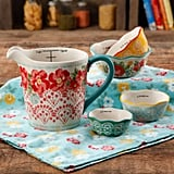 The Pioneer Woman Vintage Floral 4-Piece Measuring Bowl with 4-Cup Measuring Cup, 5-Piece Set ($15)