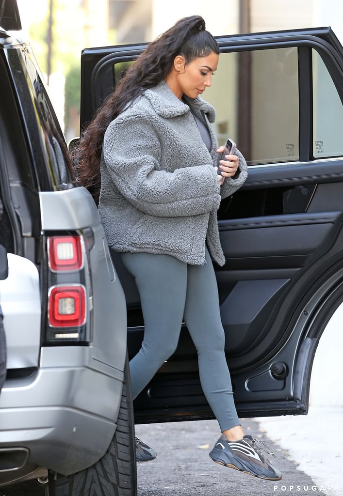 the best attitude 0f54d e58d4 Kim Kardashian Yeezy Boost 700 Sneakers | POPSUGAR Fashion ...