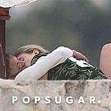 Cara Delevingne Kissing Michelle Rodriguez