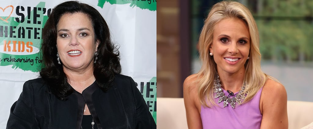 Rosie O'Donnell Responds to Elisabeth Hasselbeck 2014