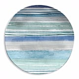 Tarhong Aqua Striped Salad Plate ($44)