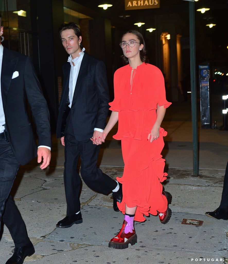 Ella Emhoff and Sam Hine at the 2021 Met Gala After Party