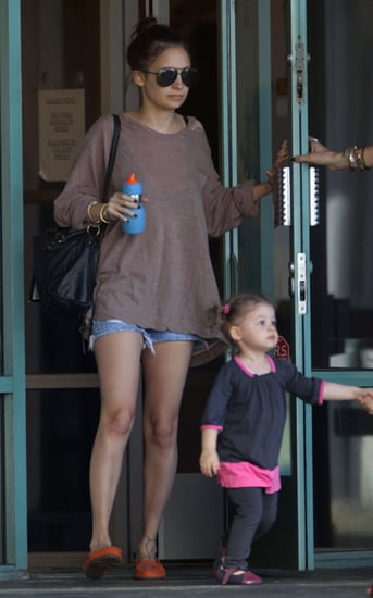 Nicole Richie and Harlow have fun at Kid Fit