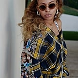 Beyonce Wearing Baggy Jeans