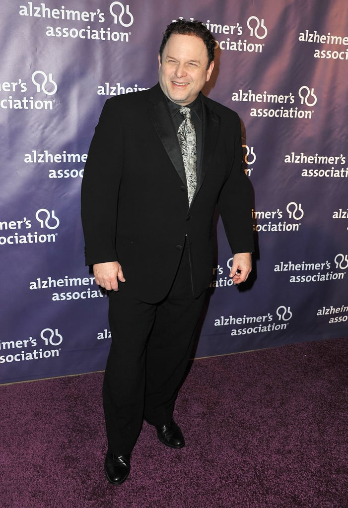 Jason Alexander laughed on the carpet.