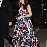 Kate wearing Erdem in October 2015.