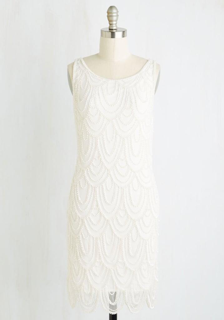 Pisarro Nights Roaring Reception Dress in White ($175)