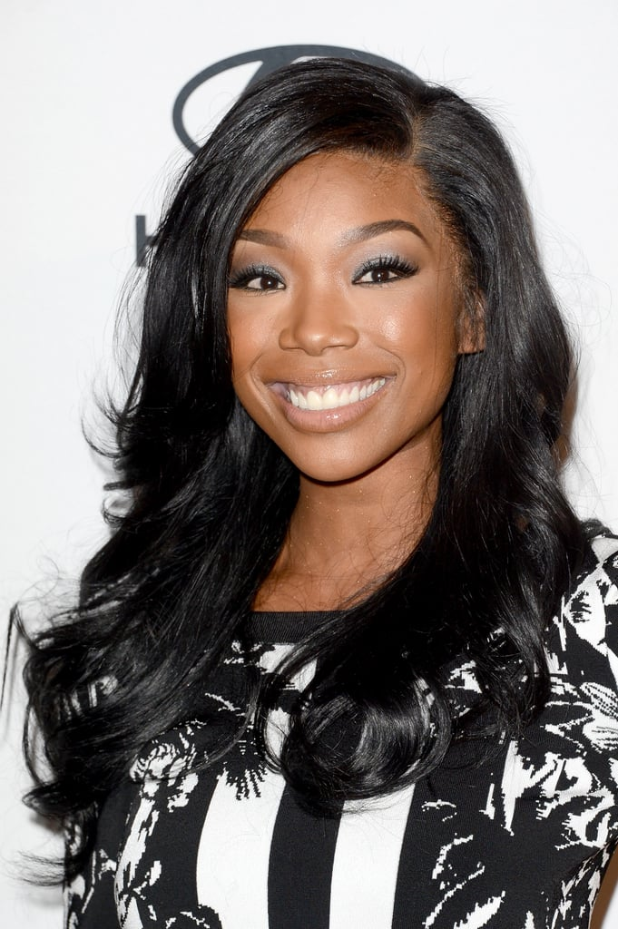 Brandy at Delta's Grammys Preparty