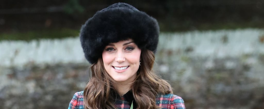 Kate Middleton's Coat Screams Christmas Cheer on an Early Monday Morning