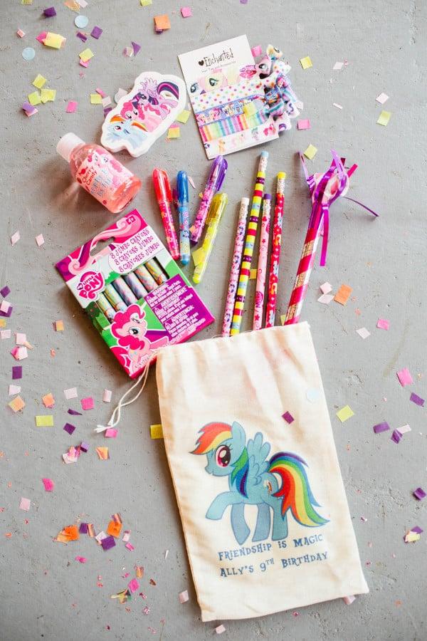 Rainbow Themed My Little Pony Party Popsugar Moms