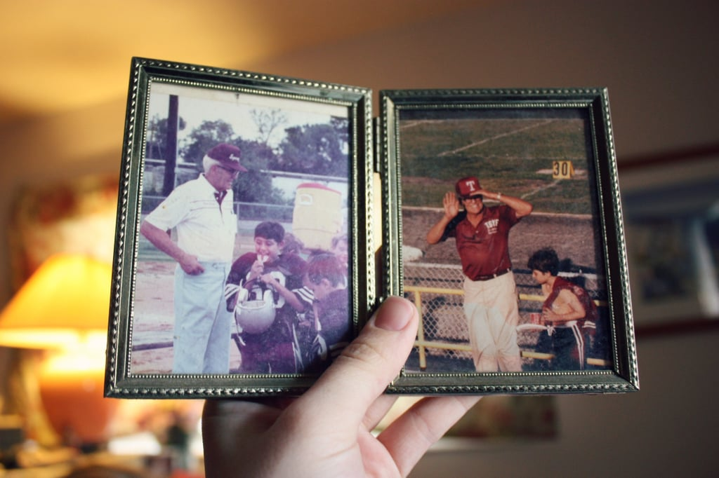 Send a photo in a frame to your parents (or grandparents).