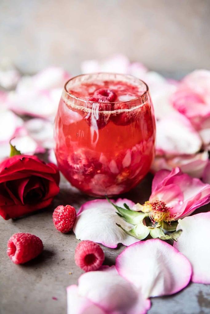 Raspberry Rose Tequila Kombucha