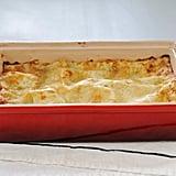 Mushroom and Leak Lasagna