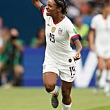 Crystal Dunn at the Women's World Cup