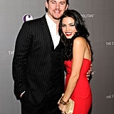 Channing and Jenna posed pretty before celebrating New Year's Eve 2011 in Las Vegas.