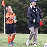 Reese Witherspoon watched son Deacon Phillippe's soccer game in LA.