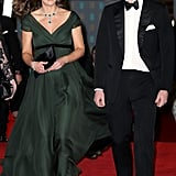 William and Kate Attended the BAFTAs