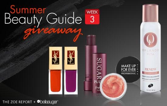 Rachel Zoe and BellaSugar Beauty Giveaway: Week Three