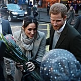 Prince Harry and Meghan Markle Out in London January 2018