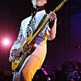 Prince gave his all when he took the stage in October 2009 at the Grand Palais in Paris.