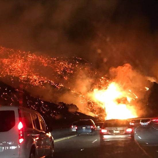 California Wildfires in Los Angeles, Ventura December 2017