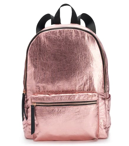 NYC Metallic Backpack