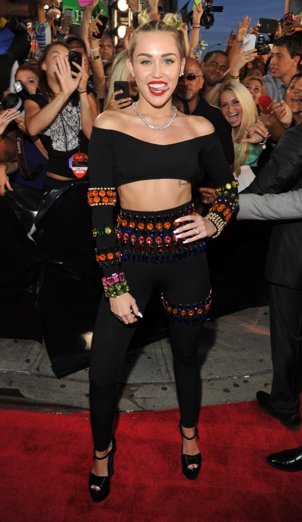 Miley Gone Wild at the VMAs — See All the Scandalous Pics