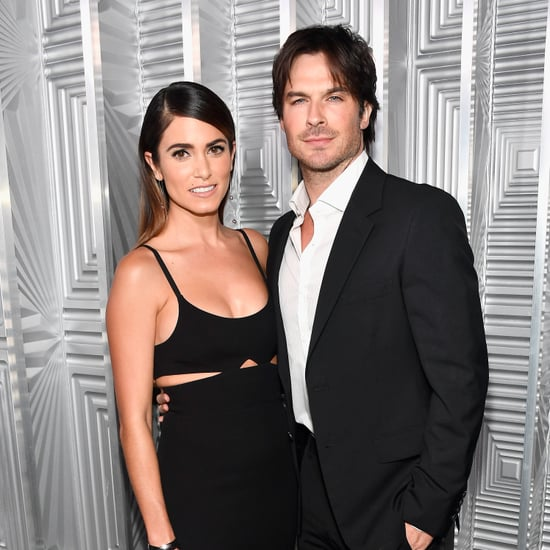 Ian Somerhalder With Nikki Reed's Breast Pump Golden Globes