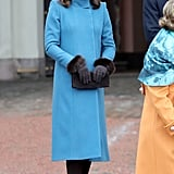 Kate Middleton's Furry Hat Becomes 1,000 Times More Exciting When You See Her Gloves