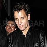 Clive Owen in London.