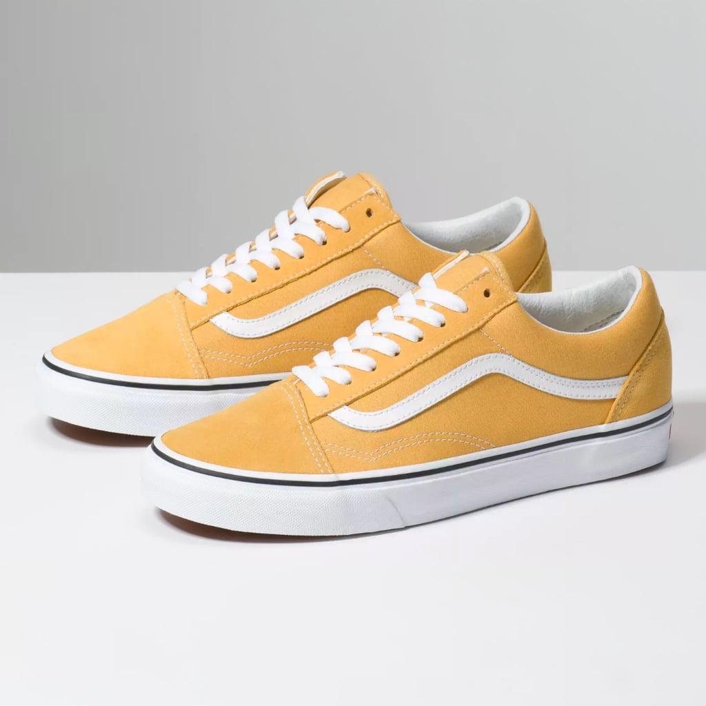 Shop Kiara's Exact Yellow Vans