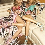 Edita Vilkeviciute, Magdalena Frackowiak for Blumarine, by Terry Richardson