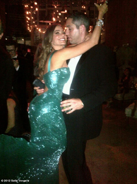 Sofia Vergara felt like a mermaid when partying. Source: SofiaVergara on WhoSay