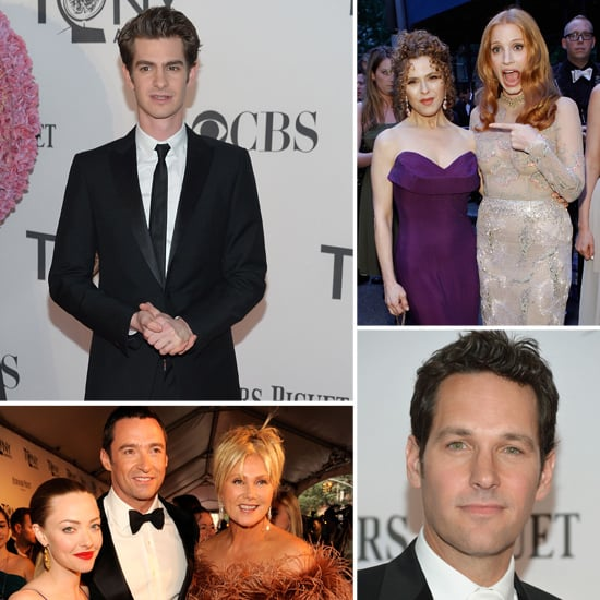 Andrew, Jessica, Amanda and More Hit the Tonys Red Carpet