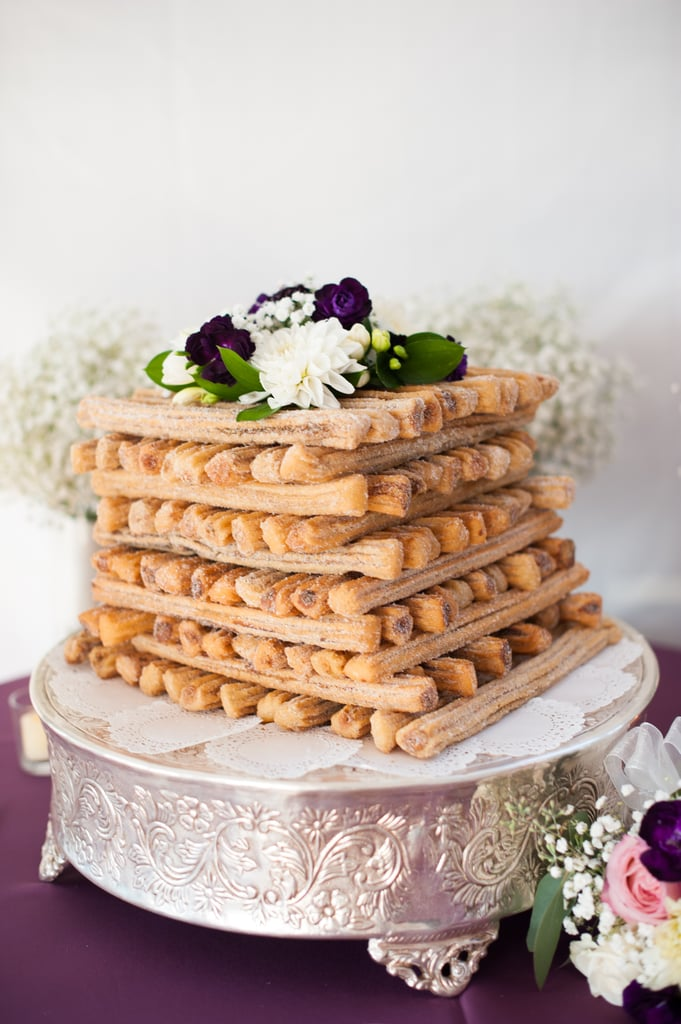 healthy mexican wedding cakes churro cake wedding cakes popsugar photo 3 15147