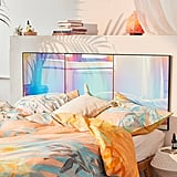 Rainbow Iridescent Headboard