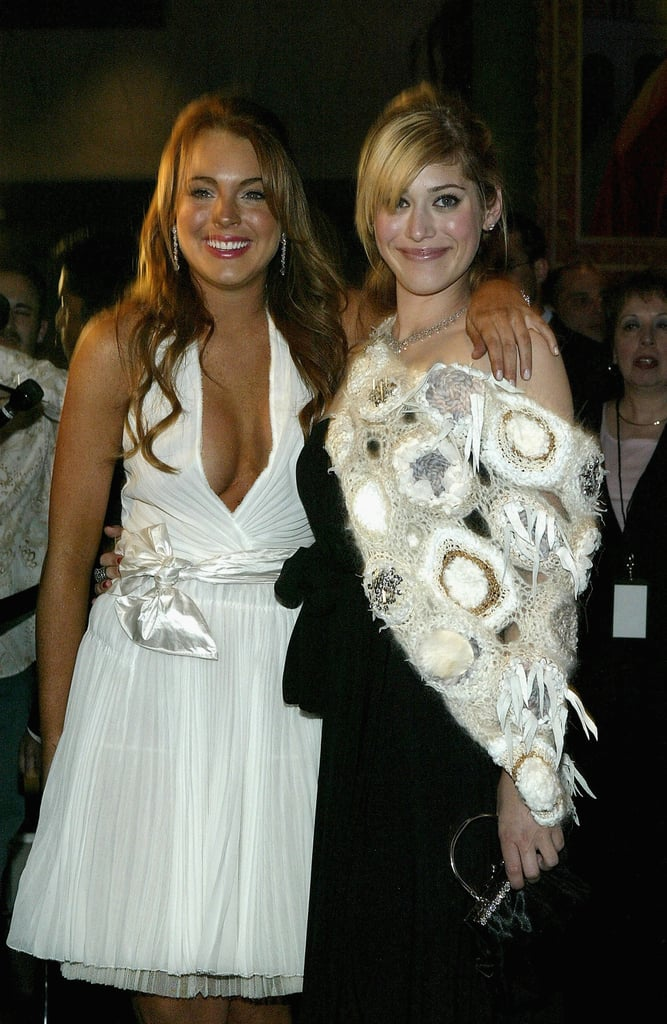 . . . But you probably know her best as Janis Ian from 2004's runaway hit Mean Girls, which co-starred Lindsay Lohan (left). No offence to Lindsay, but Lizzy kind of stole the show.