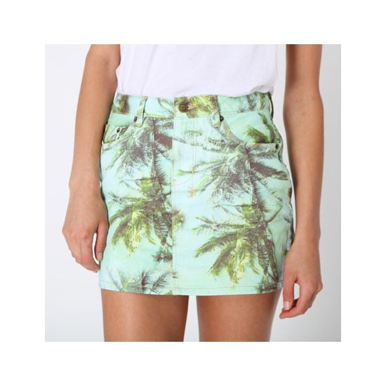 Colourful prints always make me think of Summer and warmer days, especially something tropical like palm trees! I love the colour and style of this skirt. Unfortunately I don't think it will be one that translates to Winter. — Jess, PopSugar editor Shorts, $239.95, Ksubi at General Pants