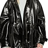 AllSaints Kelsey Nya Faux Leather Jacket