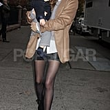 Miranda Kerr and Flynn Bloom were spotted out in NYC.
