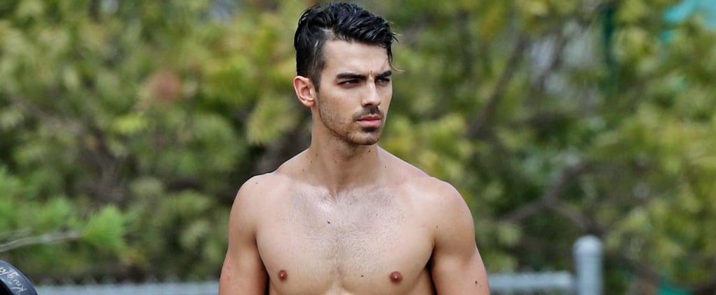 Joe Jonas Shirtless Pictures