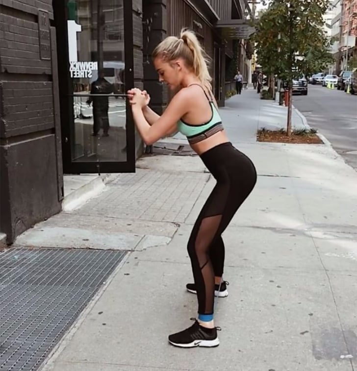 Butt Exercise With Resistance Band