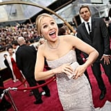 Kristen Bell at the 2014 Oscars.
