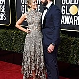 Emily Blunt and John Krasinski 2019 Golden Globes Pictures