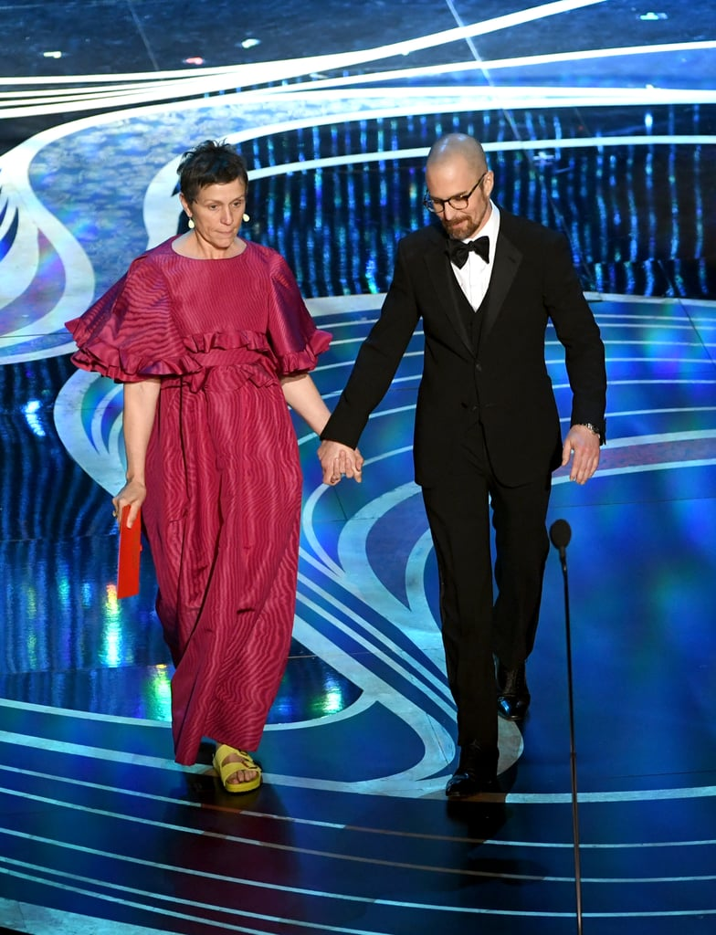 Frances McDormand's Birkenstock Sandals at the 2019 Oscars