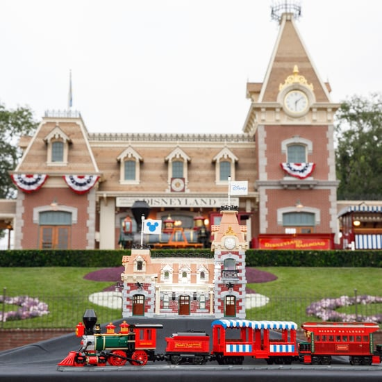 Disney Train and Station Lego Set