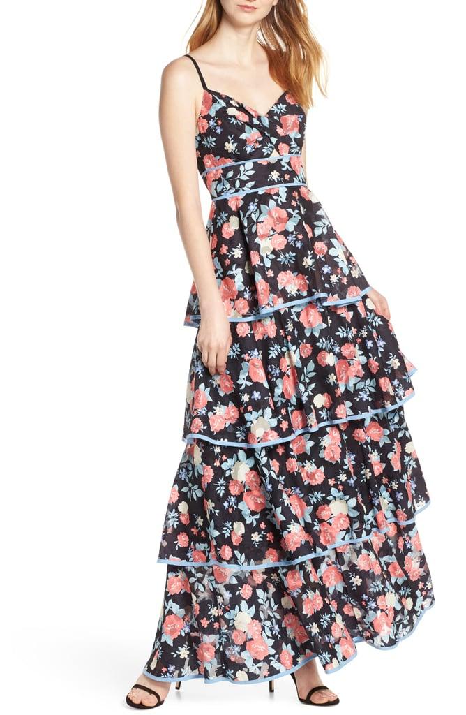 Foxiedox Darlene Tiered Maxi Dress