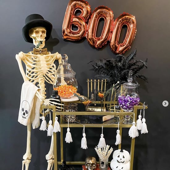 Halloween Bar Cart Decorating Ideas